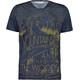 Maloja SentM. Multi Koszulka kolarska, krótki rękaw Mężczyźni niebieski